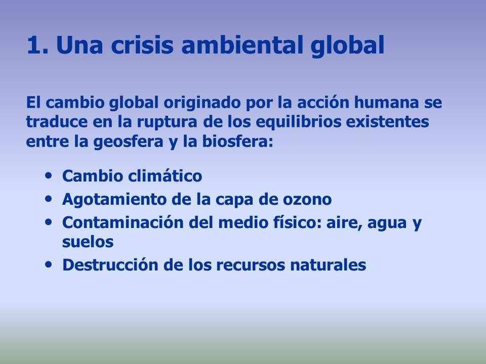 1. Una crisis ambiental global