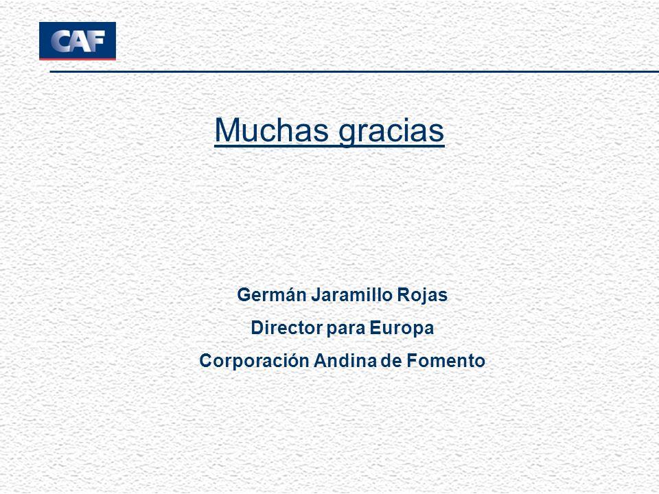 Germán Jaramillo Rojas Corporación Andina de Fomento