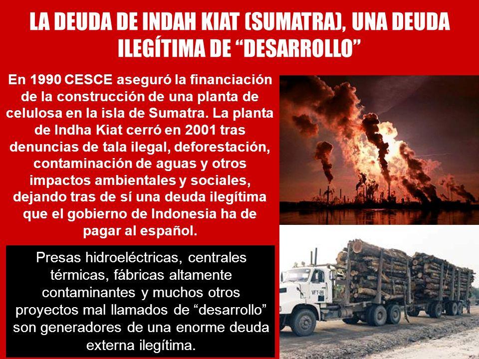 LA DEUDA DE INDAH KIAT (SUMATRA), UNA DEUDA ILEGÍTIMA DE DESARROLLO