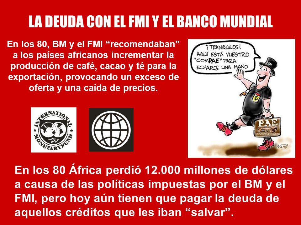 LA DEUDA CON EL FMI Y EL BANCO MUNDIAL