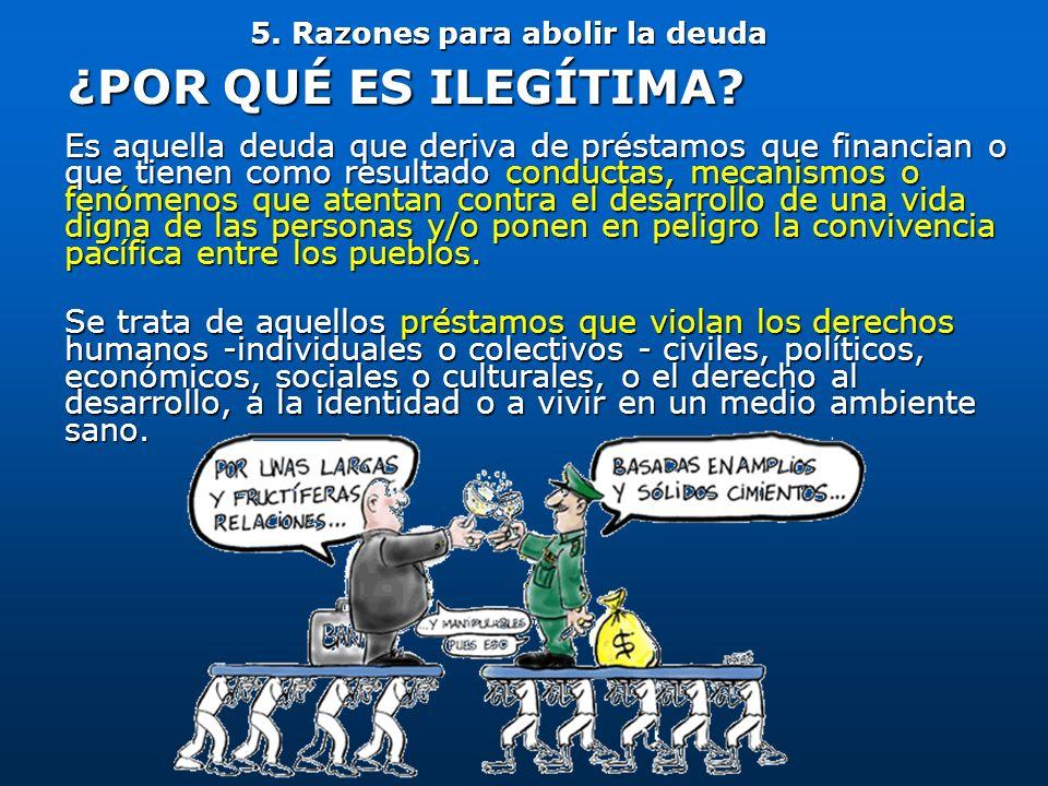 5. Razones para abolir la deuda