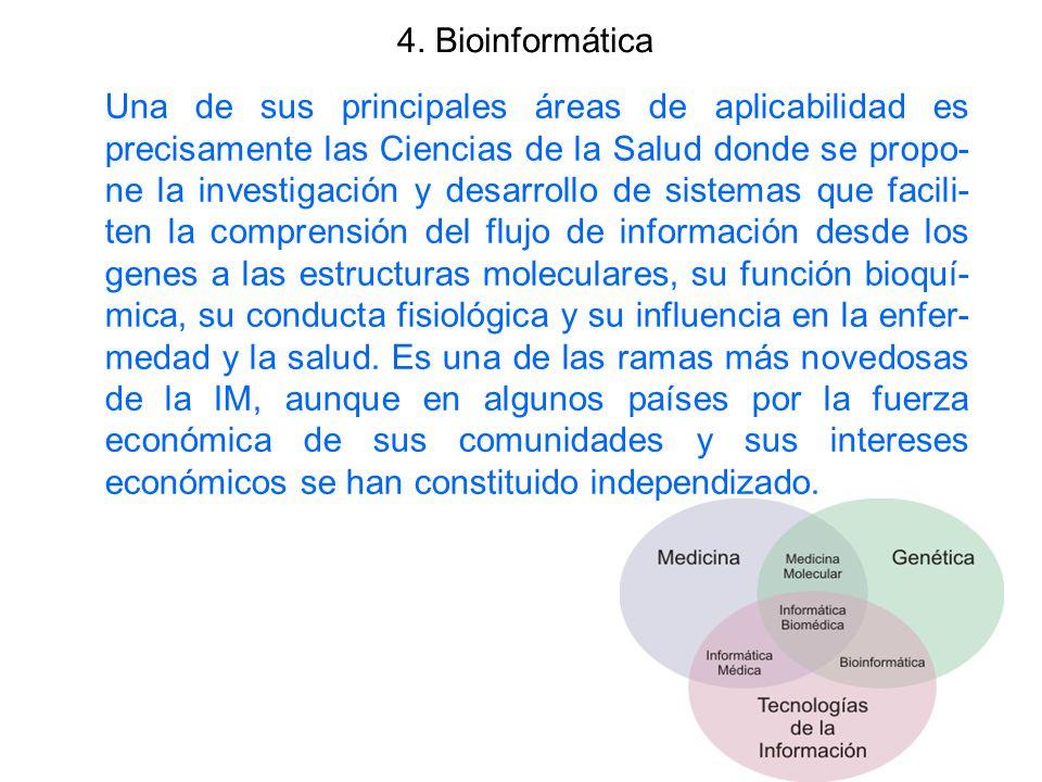 4. Bioinformática