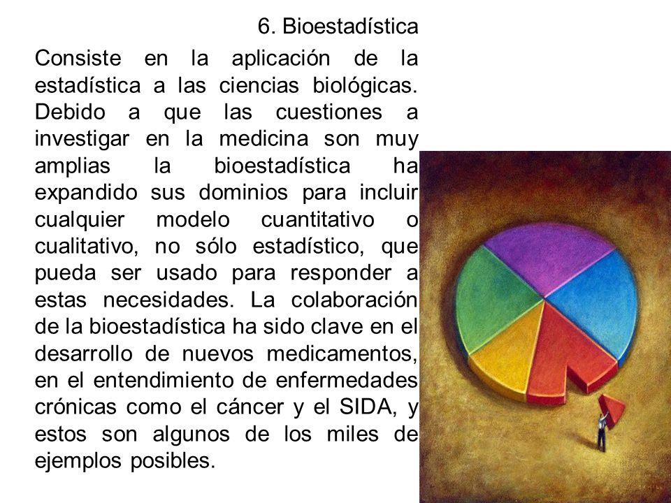 6. Bioestadística