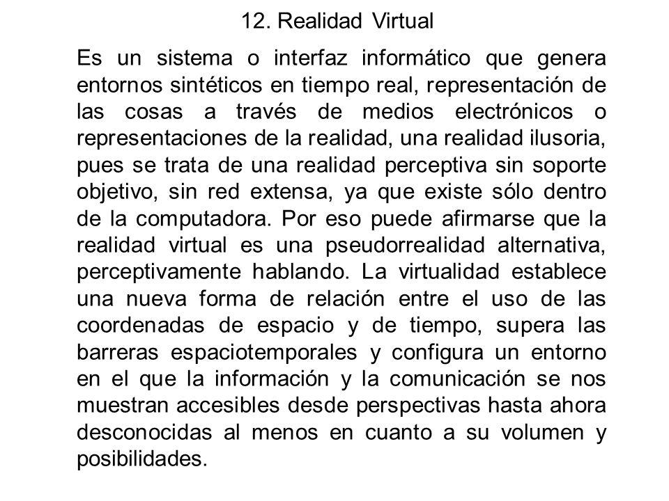 12. Realidad Virtual