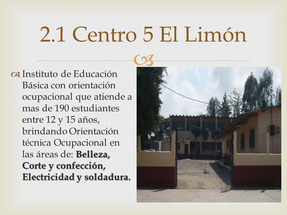 2.1 Centro 5 El Limón
