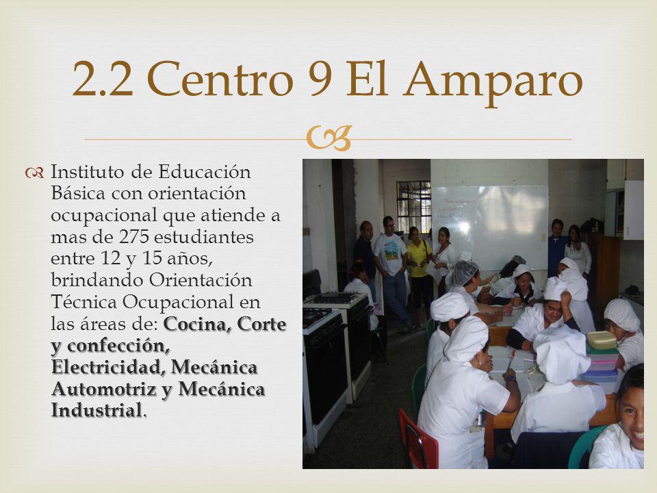2.2 Centro 9 El Amparo