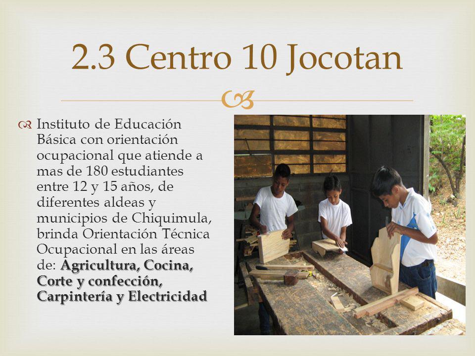 2.3 Centro 10 Jocotan