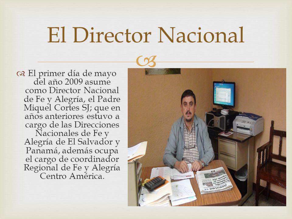 El Director Nacional