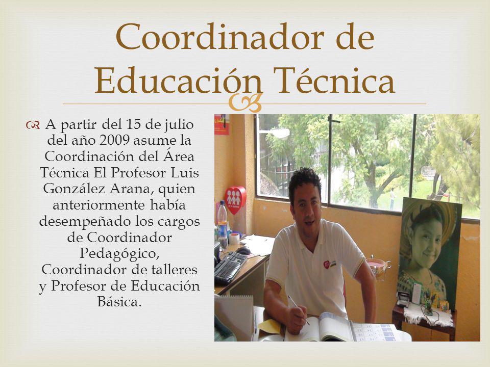 Coordinador de Educación Técnica
