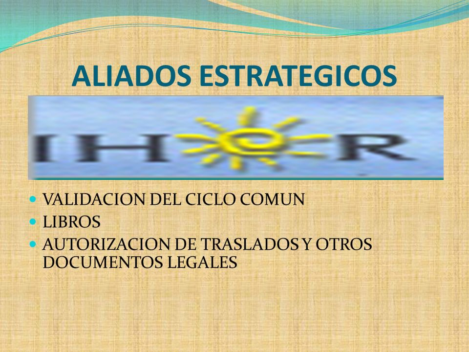 ALIADOS ESTRATEGICOS VALIDACION DEL CICLO COMUN LIBROS