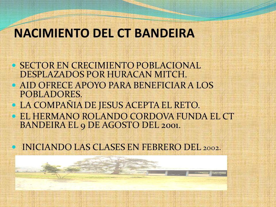 NACIMIENTO DEL CT BANDEIRA
