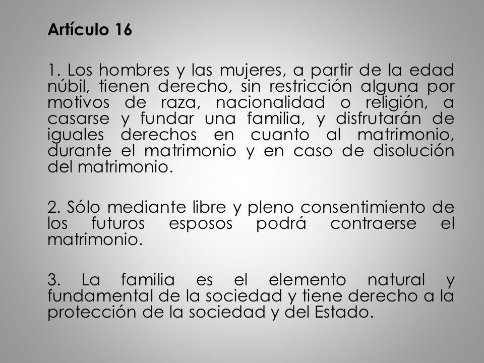 Artículo 16 1.