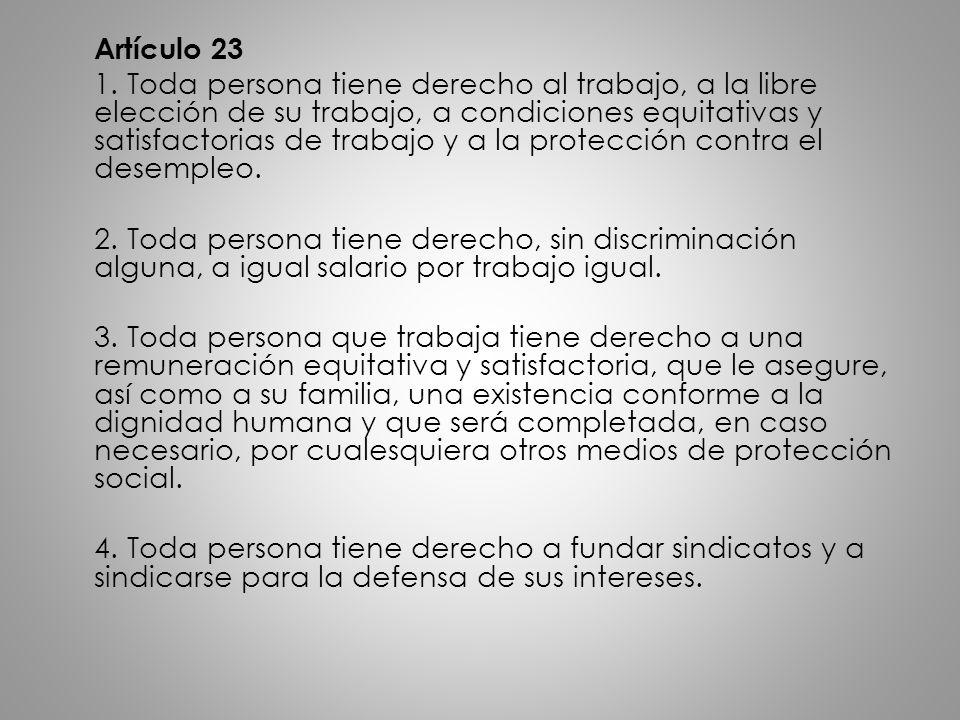 Artículo 23 1.