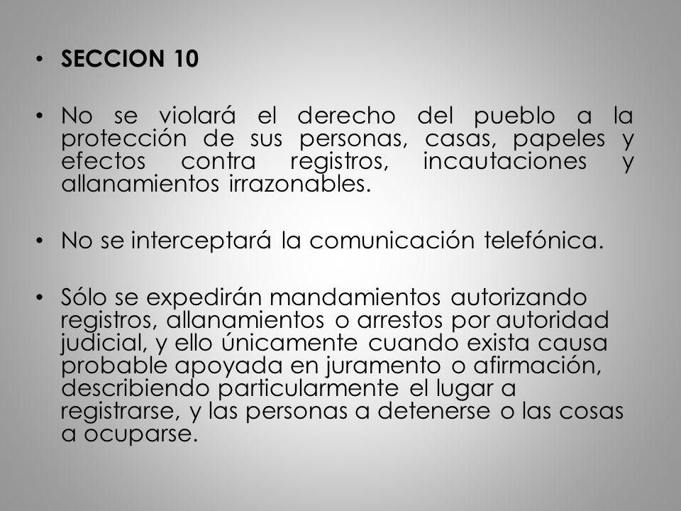 SECCION 10
