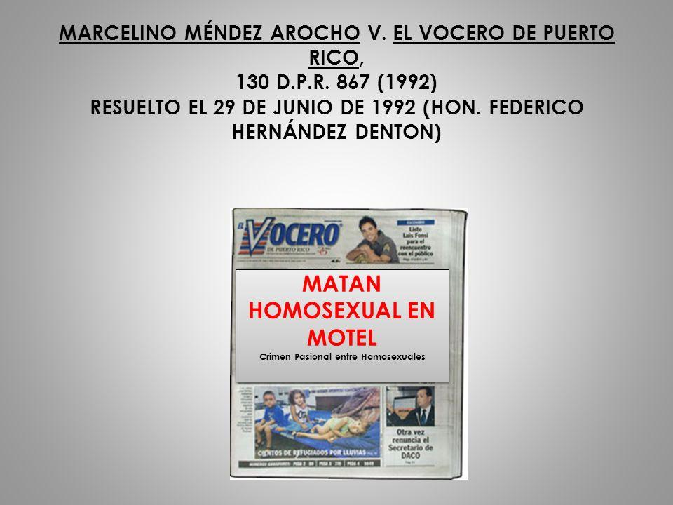 MATAN HOMOSEXUAL EN MOTEL Crimen Pasional entre Homosexuales