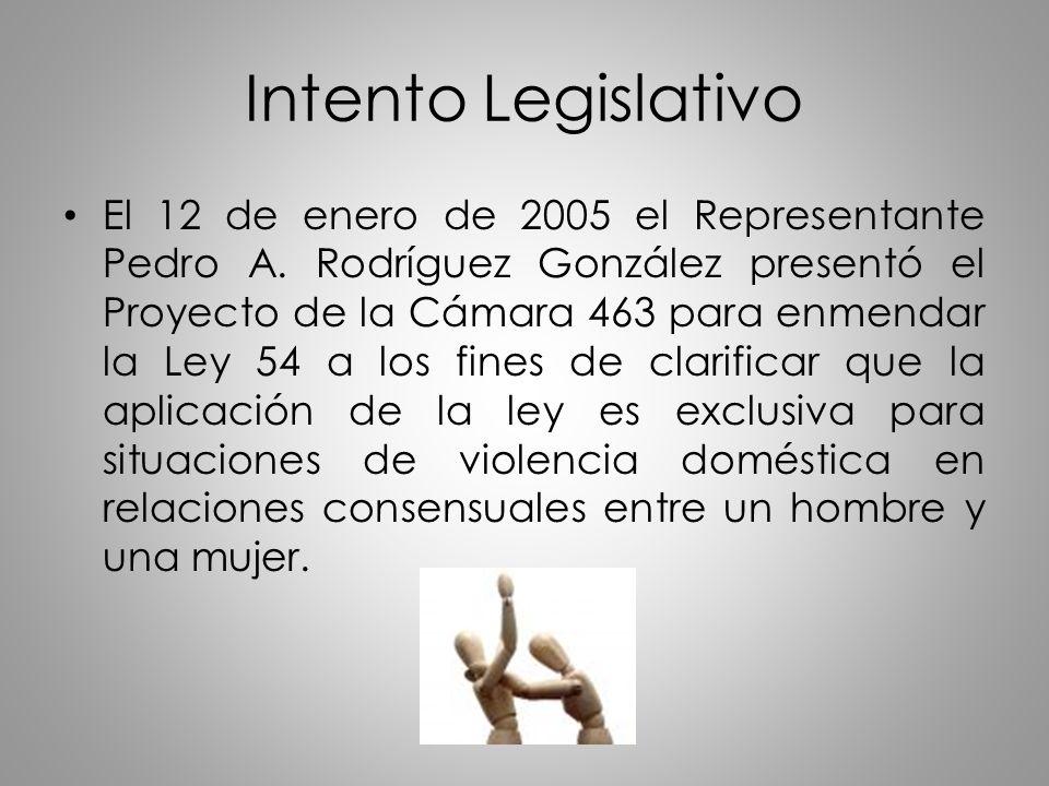 Intento Legislativo