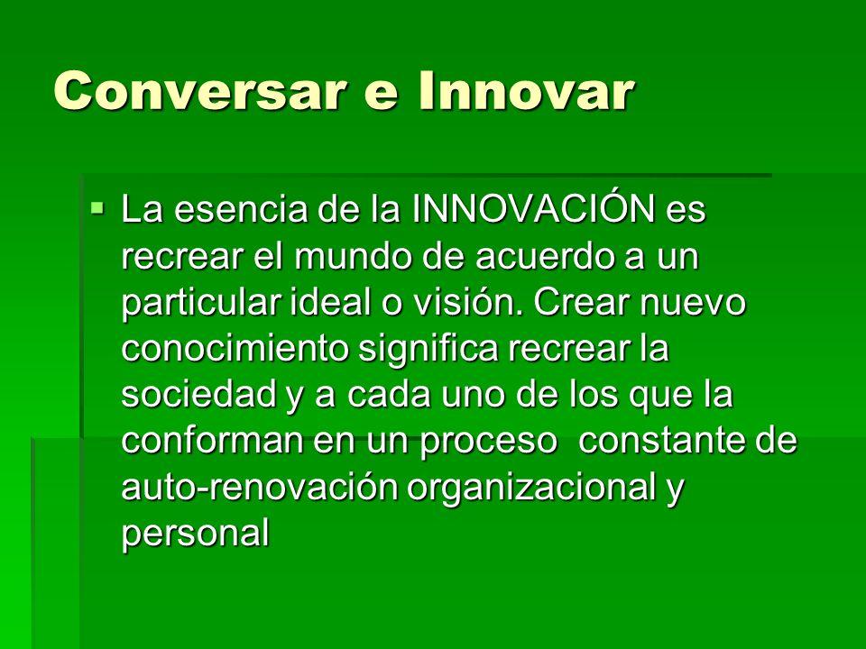 Conversar e Innovar