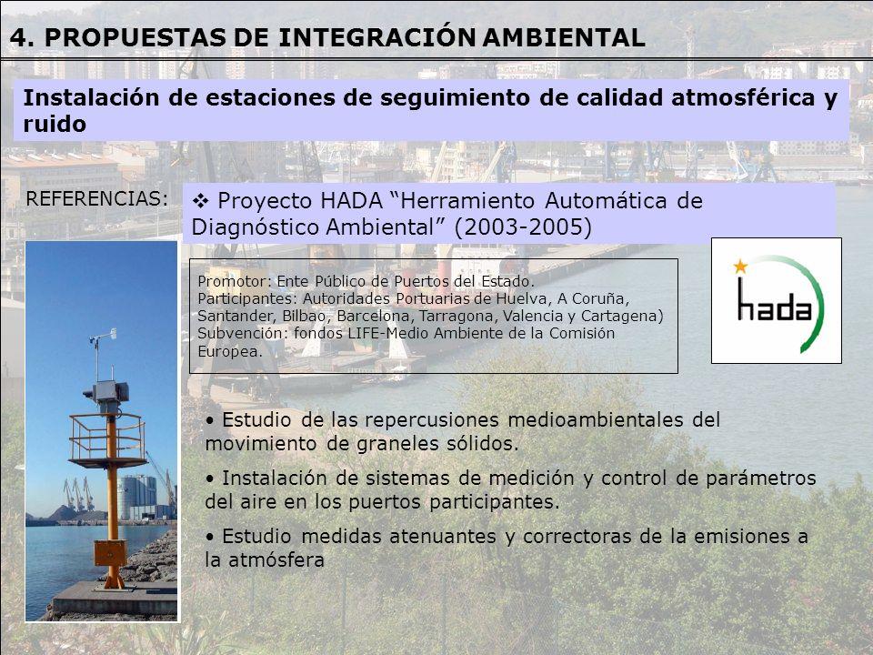 4. PROPUESTAS DE INTEGRACIÓN AMBIENTAL
