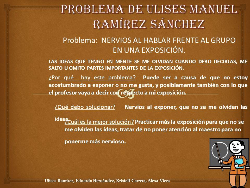 Problema de ULISES MANUEL RAMÍREZ SÁNCHEZ