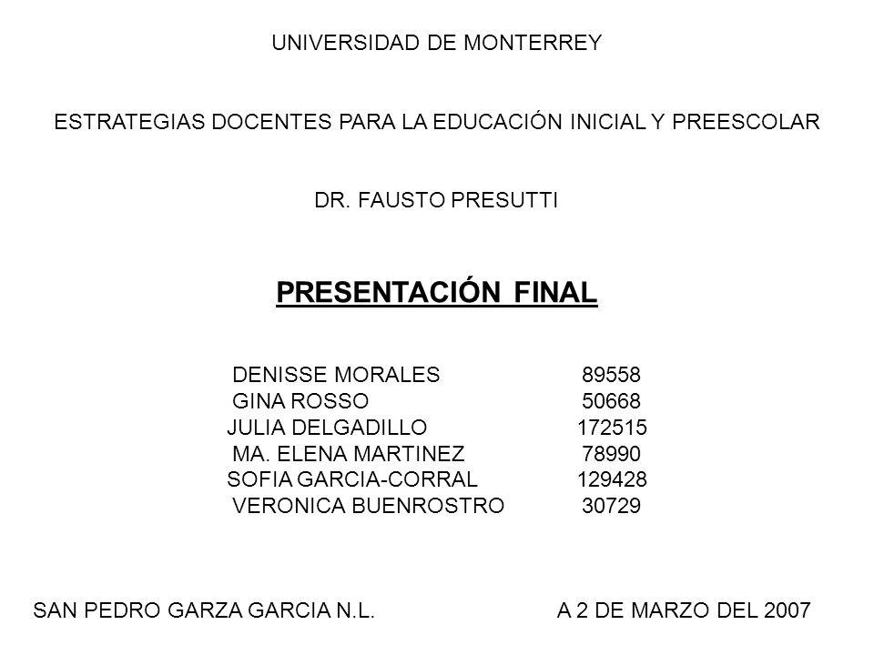 PRESENTACIÓN FINAL UNIVERSIDAD DE MONTERREY