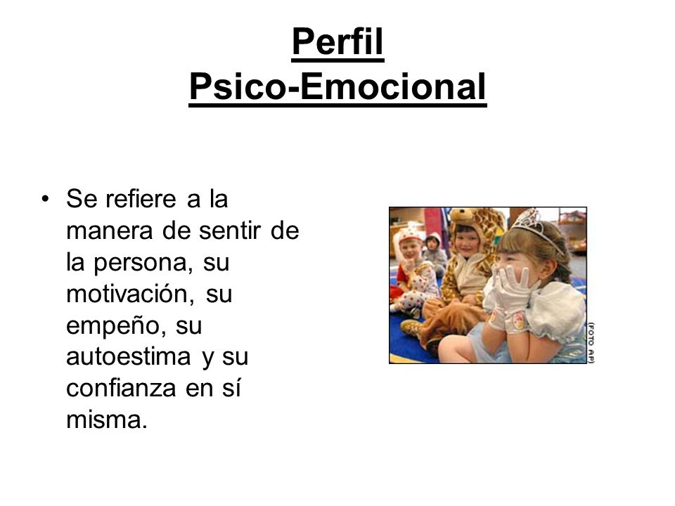 Perfil Psico-Emocional