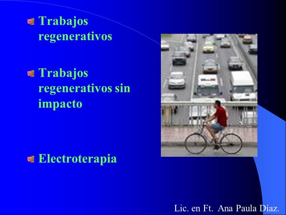 Trabajos regenerativos