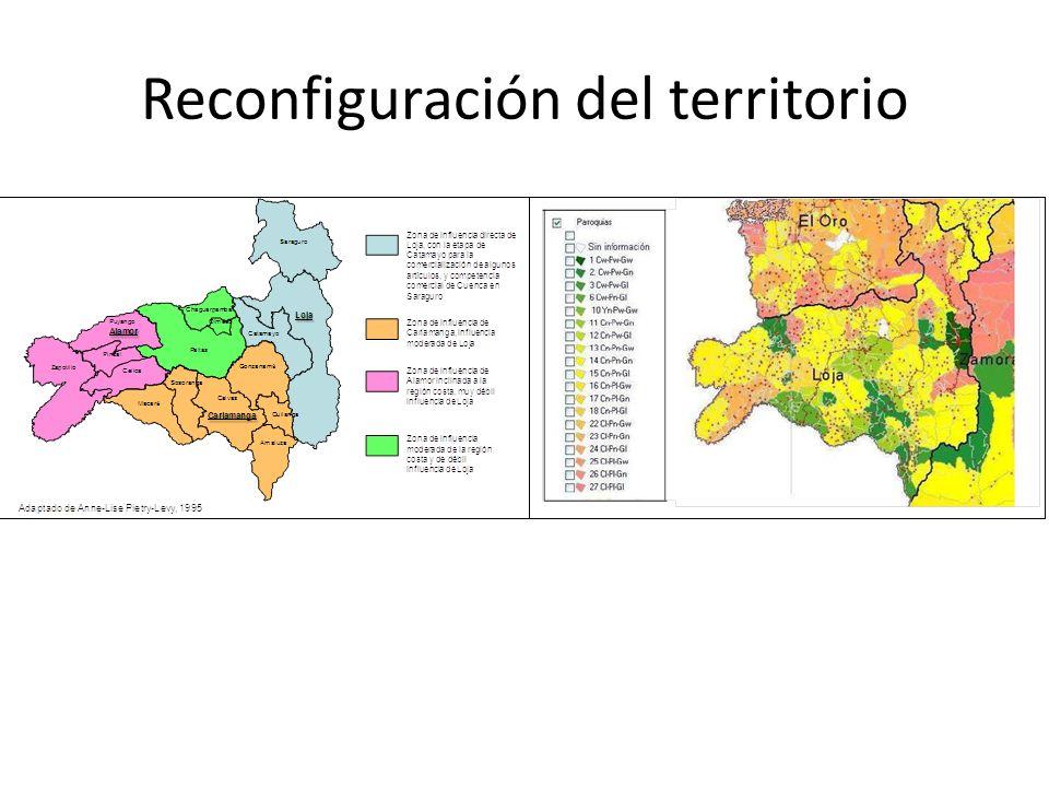 Reconfiguración del territorio