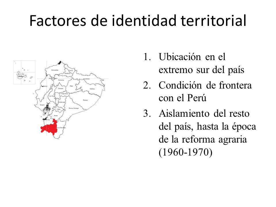 Factores de identidad territorial