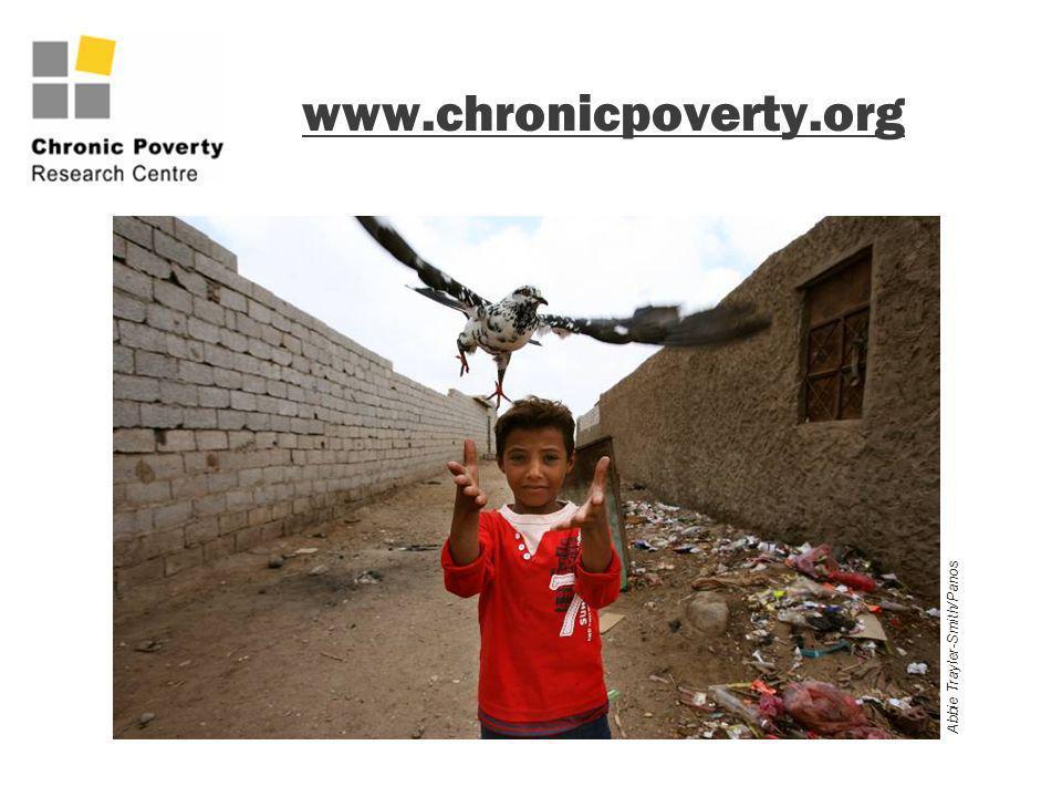 www.chronicpoverty.org Abbie Trayler-Smith/Panos