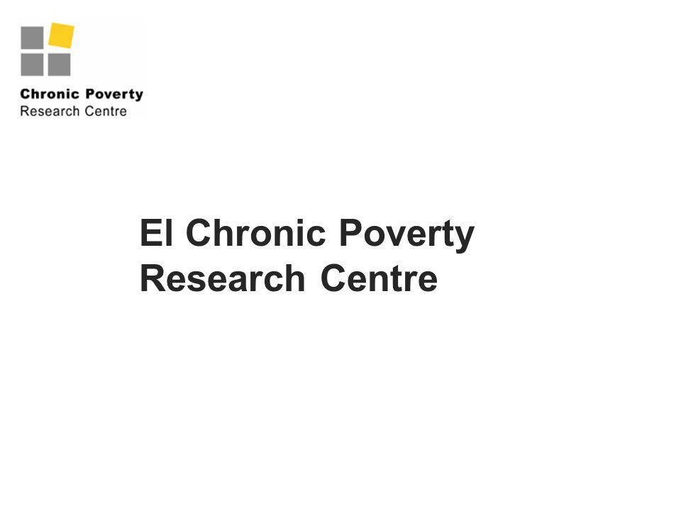 El Chronic Poverty Research Centre