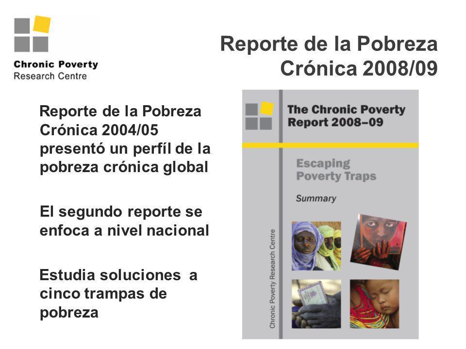 Reporte de la Pobreza Crónica 2008/09