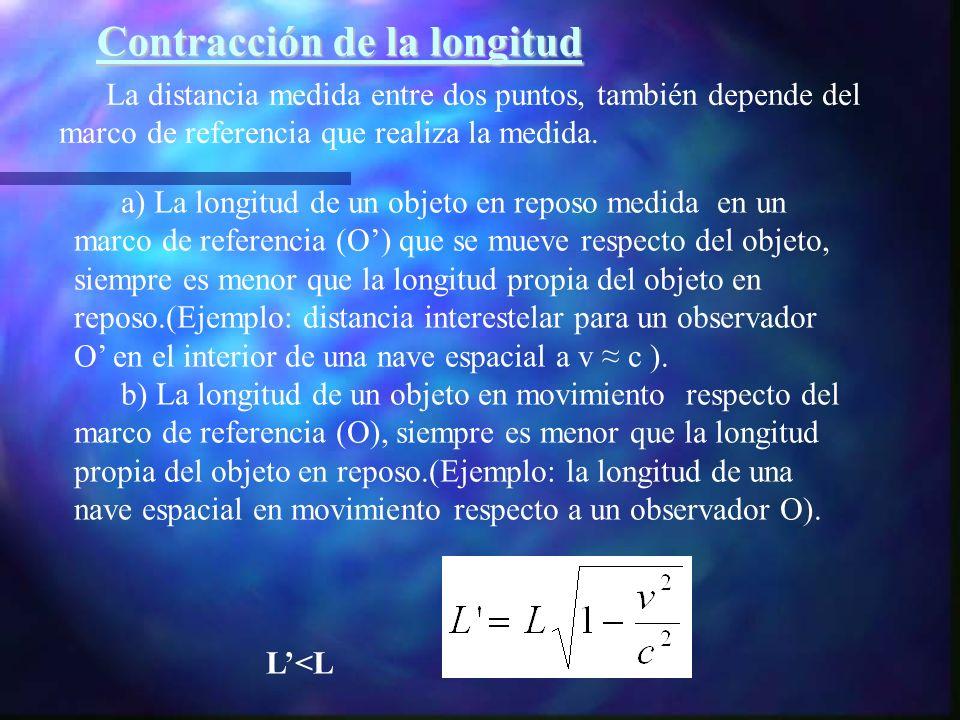 Contracción de la longitud