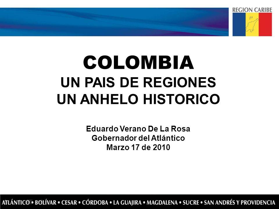 Eduardo Verano De La Rosa Gobernador del Atlántico