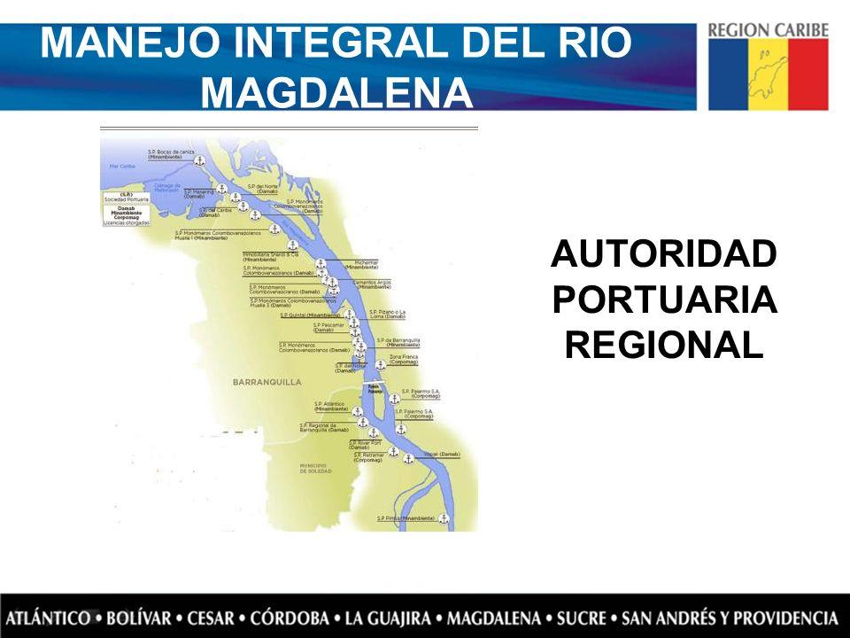 MANEJO INTEGRAL DEL RIO MAGDALENA