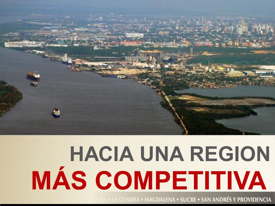 HACIA UNA REGION MÁS COMPETITIVA