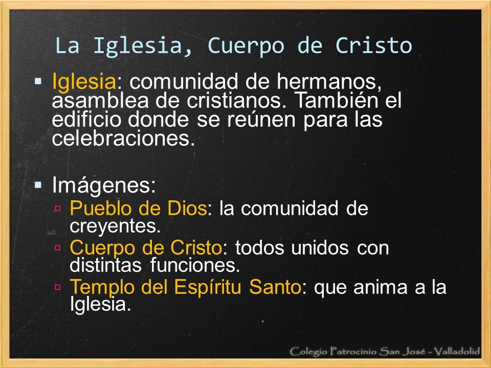 La Iglesia, Cuerpo de Cristo
