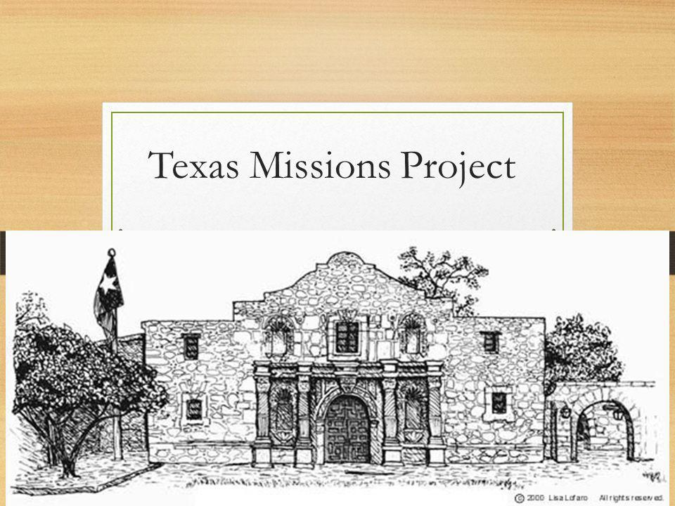 Texas Missions Project