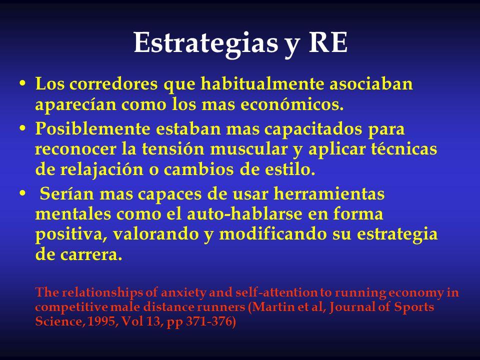 Estrategias y RE Los corredores que habitualmente asociaban aparecían como los mas económicos.
