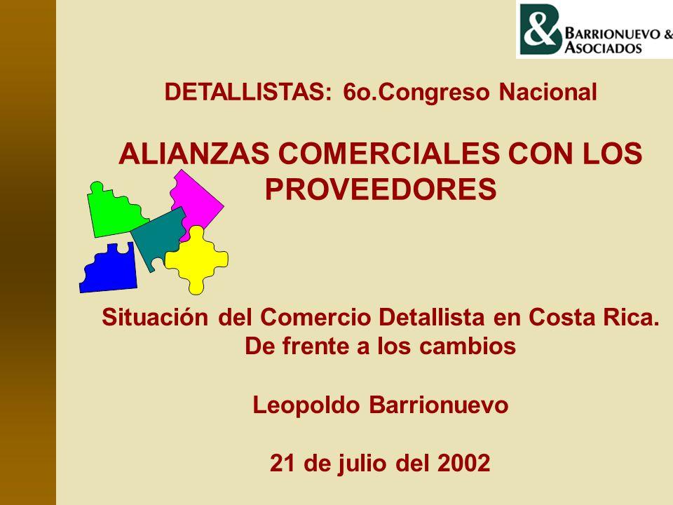 ALIANZAS COMERCIALES CON LOS PROVEEDORES