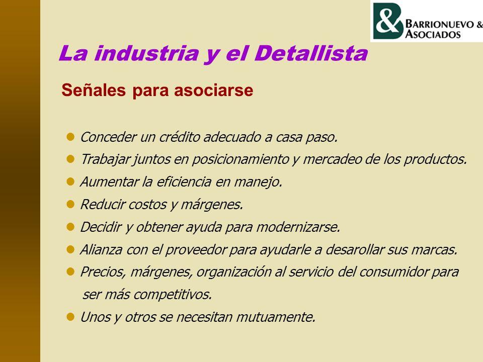 La industria y el Detallista