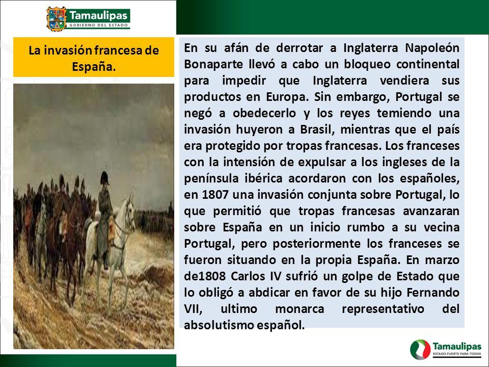 La invasión francesa de España.
