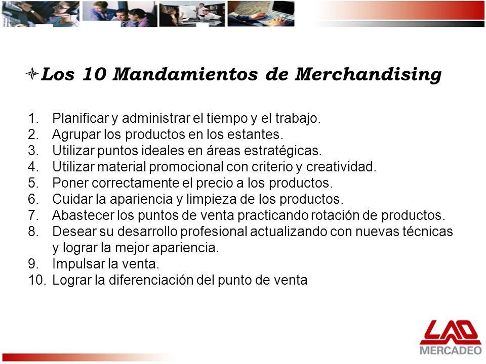Los 10 Mandamientos de Merchandising