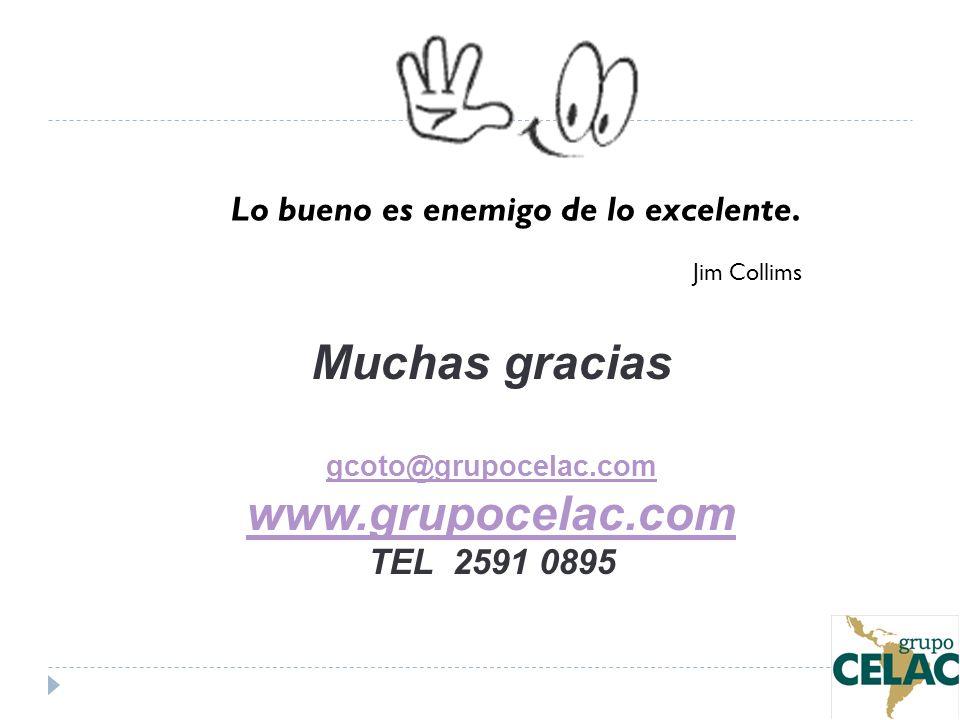 Muchas gracias www.grupocelac.com