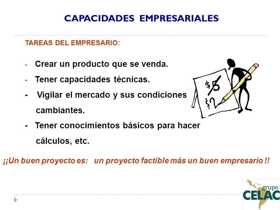 CAPACIDADES EMPRESARIALES