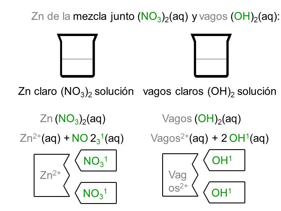 vagos claros (OH)2 solución