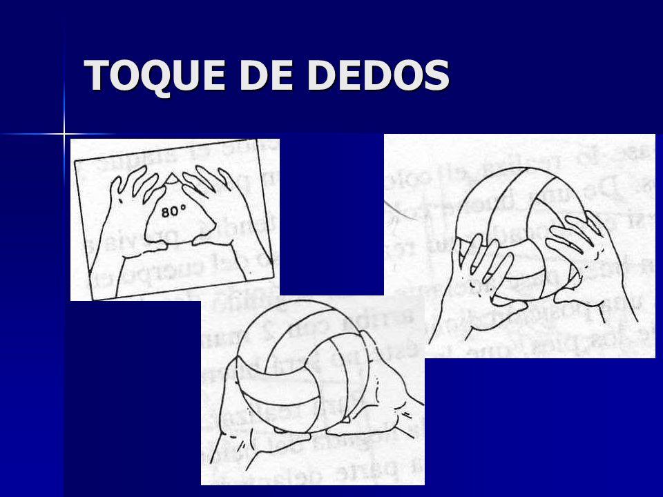 TOQUE DE DEDOS