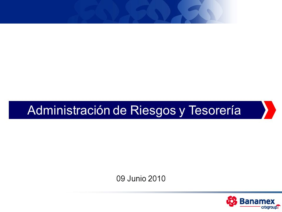 Administración de Riesgos y Tesorería