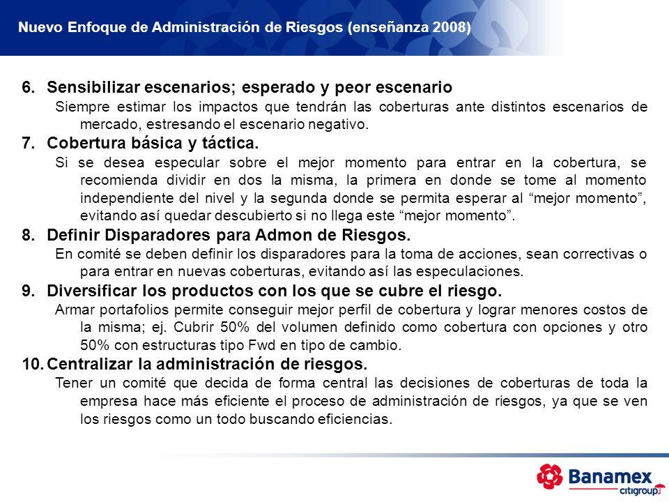 Nuevo Enfoque de Administración de Riesgos (enseñanza 2008)