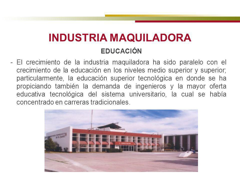 INDUSTRIA MAQUILADORA