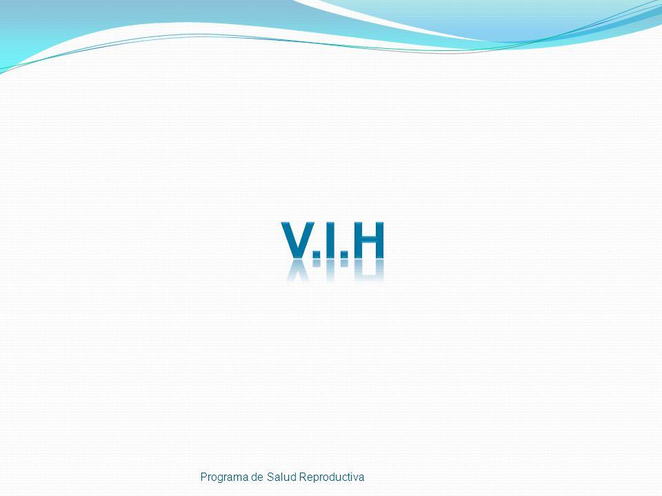 V.I.H Programa de Salud Reproductiva